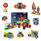 Image of Children Hub 96pcs Magnetic Building Blocks Set: Educational Toys For Kids
