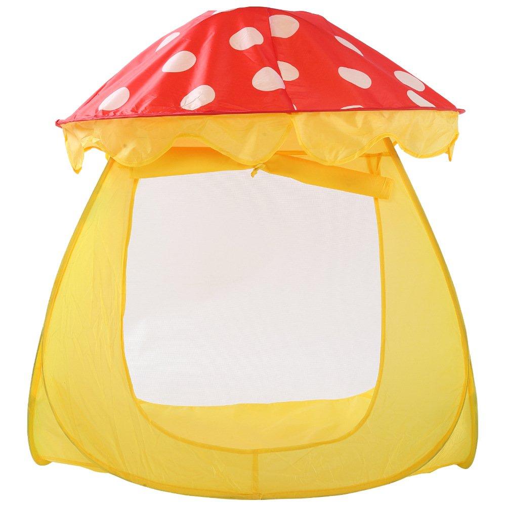 llzj Children Play Tent House CastleプリンセスPrinceインドアアウトドア使用Portable Folding Carry CubbyケースPlayground登山ストレージおもちゃゲームtent-0327 B07CVGFP4L