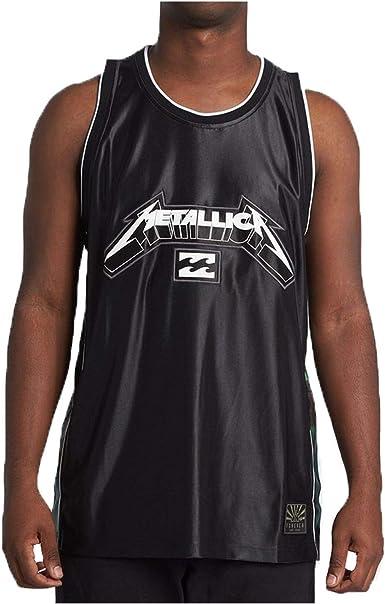 Billabong Metallica AI - Camiseta sin mangas, color negro Negro Negro (L: Amazon.es: Ropa y accesorios