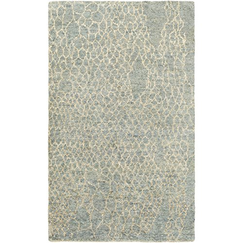 Surya BJR1010-3353 Hand Knotted 100-Percent Hemp Natural Fiber Accent Rug, 3-Feet 3-Inch by 5-Feet 3-Inch