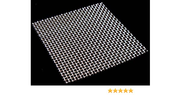 Woven Wire Mesh 0.92mm Aperture By Inoxia Cut Size: 30cmx30cm 20 mesh Stainless Steel 304L