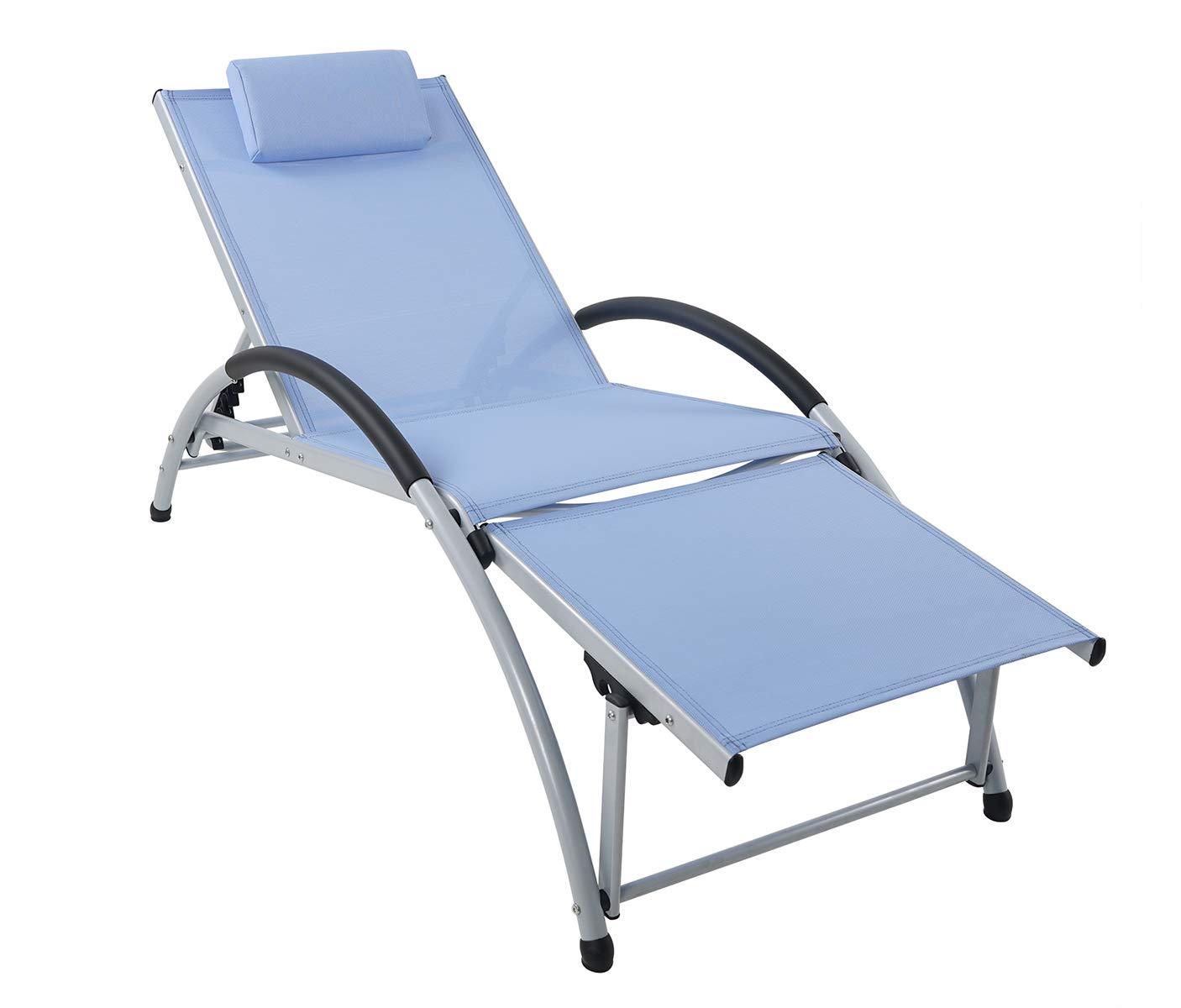 Cool Amazon Com Ukeacn Patio Chaise Lounge Lawn Chair High Beutiful Home Inspiration Aditmahrainfo