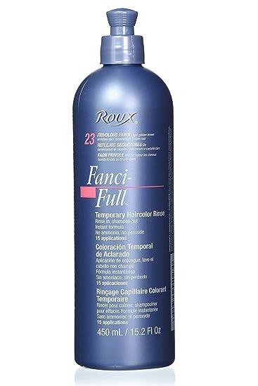 Amazon.com : Roux Fanci-Full Temporary Color Rinse 23 Frivolous Fawn ...