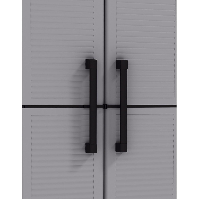 Keter Space Winner Tall Metro Storage Utility Cabinet Indoor ...