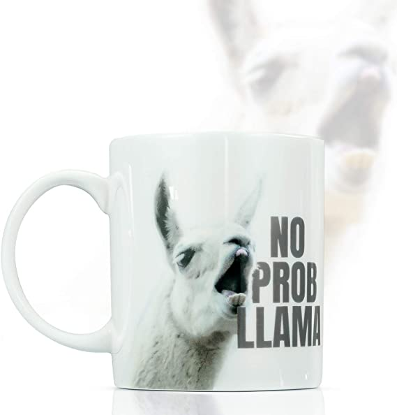 Holiday Alpaca My Bags 341ml Latte Mug Cup-Lama Funny