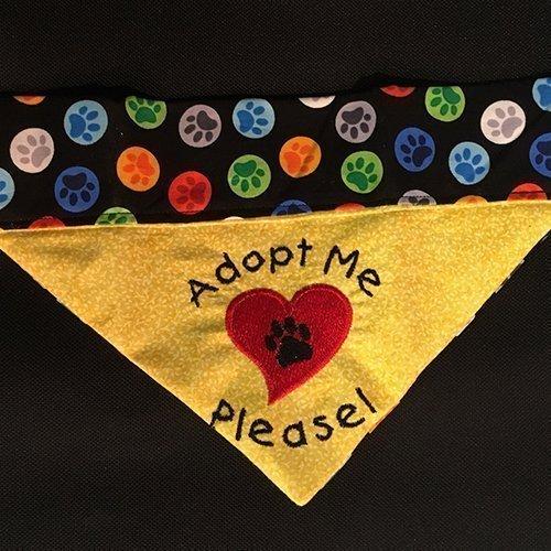 Adopt Me Bandana / Over the Collar Dog Bandana for Adoptable Pets (All  Sizes)