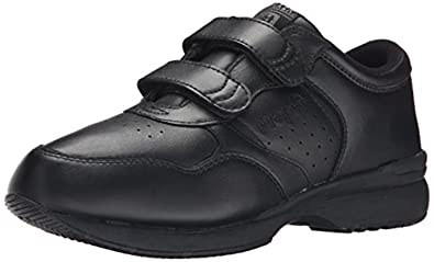 Propet Men's TravelFit Shoe All Black 11 X (3E) & Oxy Cleaner Bundle