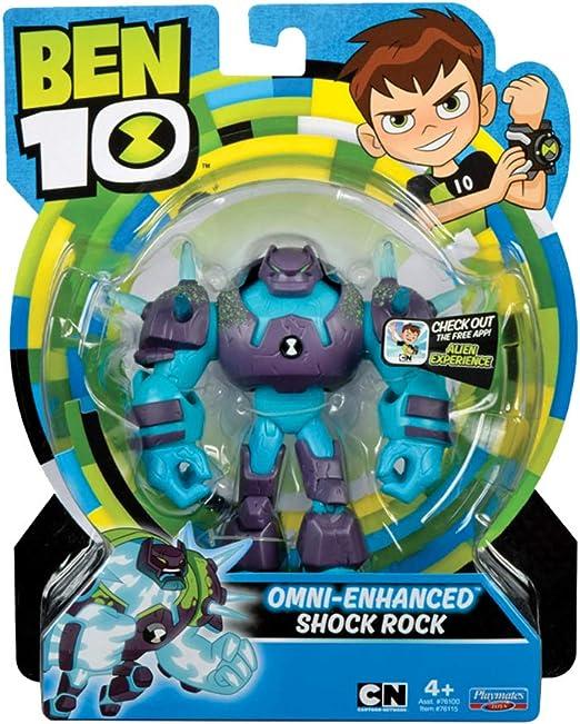 """Omni Enhanced Shock Rock Ben 10 Action Figure 5.5/"""""""