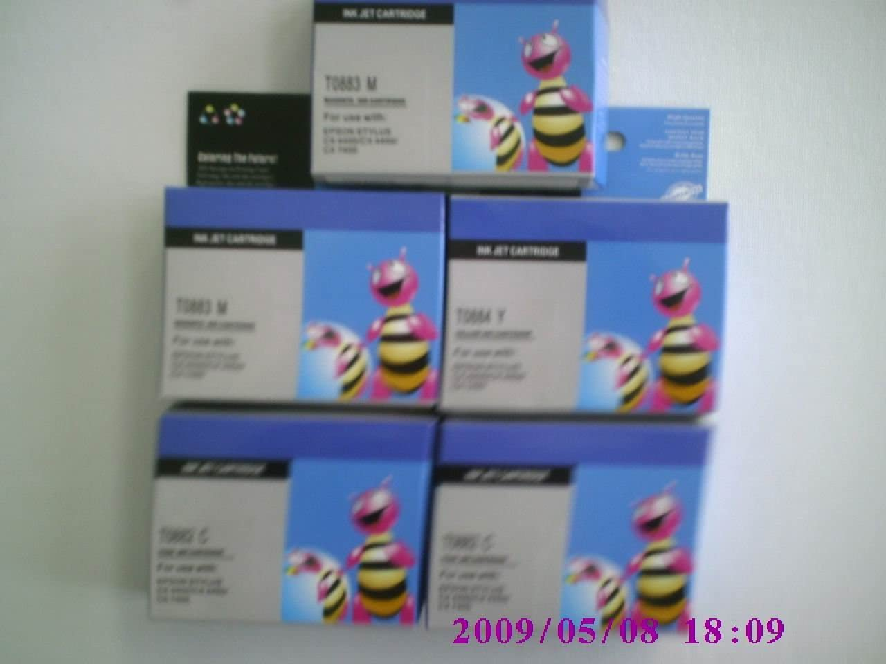 5 Pack 45 Black Ink Cartridge Compatible Hp 51645a 45a 51645 Recycled Replacement Hp High Yield Ink Inkjet Cartridges