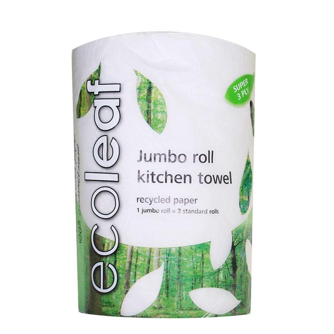 Ecoleaf From Suma | Ecoleaf Jumbo Kitchen Towel | 3 x 1: Amazon.co ...