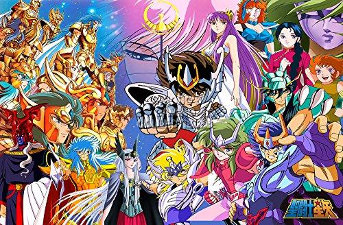 "CGC Huge Poster - Saint Saiya Knights of Zodiac Anime Poster Seinto Seiya - SSA001 (24"" x 36"" (61cm x 91.5cm))"