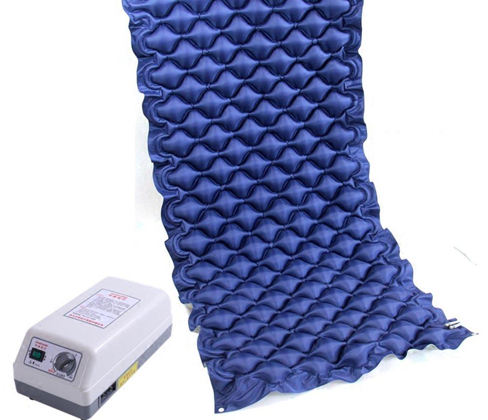 Colchón antiescaras con Colchón antiescaras con presión alternante especial reduce la presión y el dolor Alta calidad y fiabilidad 187 * 90 * 7CM: ...