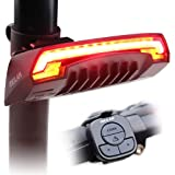 Meilan X5 Smart Bike Tail Light ?Automatic Brake Light Wireless ControlLaser Beams Turn Signs USB Rechargeable and Easy…