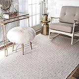 nuLOOM Lorretta Hand Loomed Area Rug, 8' x 10', Taupe
