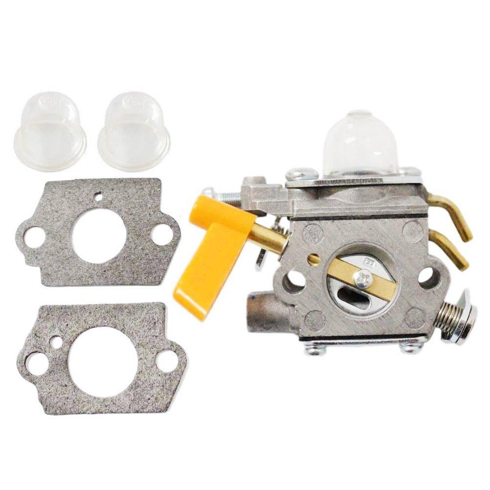 Poweka 308054032 Carburetor Replace For Ryobi Homelite Weed Eater Parts Diagram On Air Box Cover 308054022 Ry09050 Ry09051 Ry13015 Ry13050a Ry34000 Ry34420 Ry34440 Ry64400 Ry13010