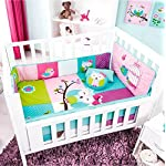 TOP-SELLER-DOROTY-OWL-BABY-GIRLS-COMFORTERBUMPERHEAD-PADFITTED-SHEETPILLOWCASES-AND-DECORATIVE-TOSSPILLOWS-CRIB-BEDDING-SET-6-PCS