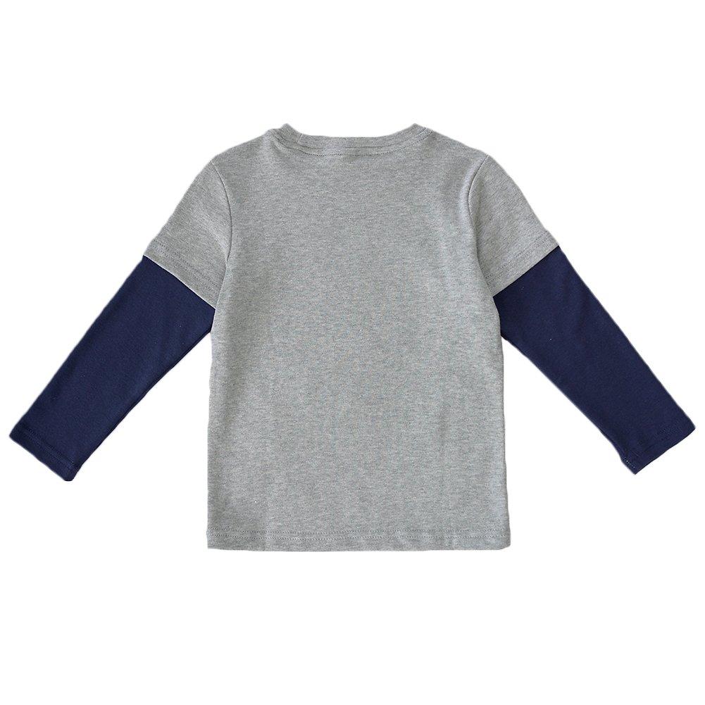 Enfants Ch/éris Little Kids Crewneck Sweatshirt Toddler Boys Long Sleeve Graphic Tee