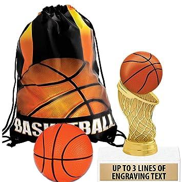 Amazon.com: Crown Awards - Bolsas de baloncesto para regalos ...