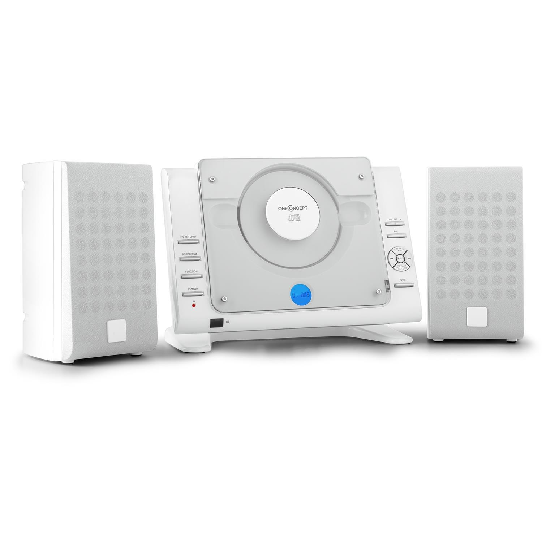 onceConcept Vertical 70 • Chaîne stéréo • Chaîne compacte • Microchaîne • Chaîne Verticale • Port USB • Écran LCD •Lecteur CD-MP3 • AUX • Radio AM/FM • 20 plages