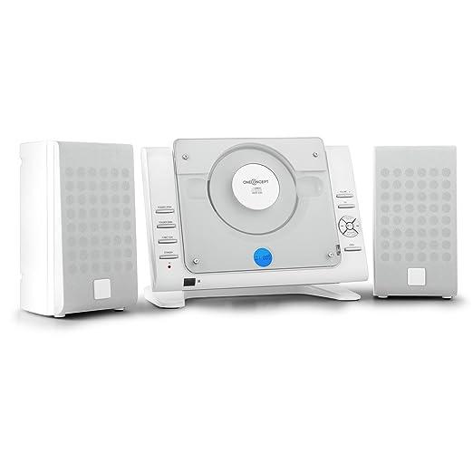 7 opinioni per oneConcept 80 Impianto Stereo HiFi verticale compatto (lettore CD, porta USB,