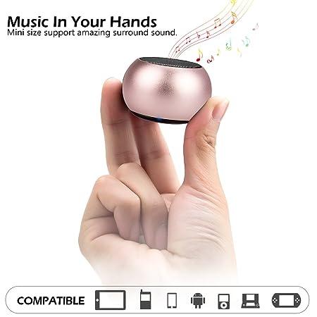 Review LONGET Mini Bluetooth Speaker