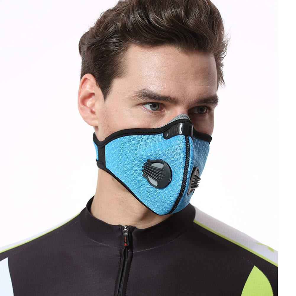 vitihipsy Anti-Pollution poussière Moto vélo vélo Ski moitié Masque Visage Filtre