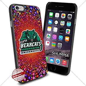 NCAA,Binghamton Bearcats,Colorful-Bright-Circles-Texture-Line-Explosion,iPhone 6 4.7