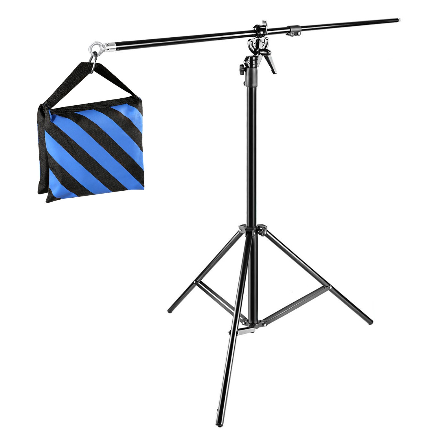 Neewer® 10ft/3M Two Way Rotable Tripod Boom Light Stand with Sandbag for Photo Photography Video Studio 10087456@@##1