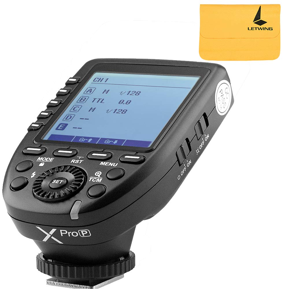 Godox XPro-P TTL Built-in 2.4G Wireless X System Featuring Multi-Channel Flash Trigger Compatible for PENTAX K-1 645Z K70 K50 KP K-S2 K-3II