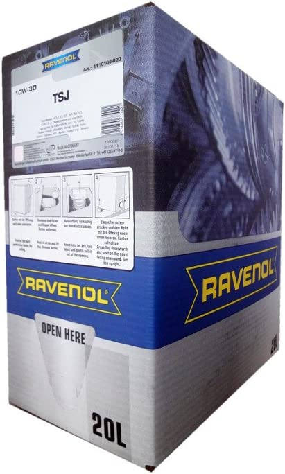 20 Liter Ravenol Tsj Sae 10w 30 Bag In Box Motoröl Made In Germany Auto