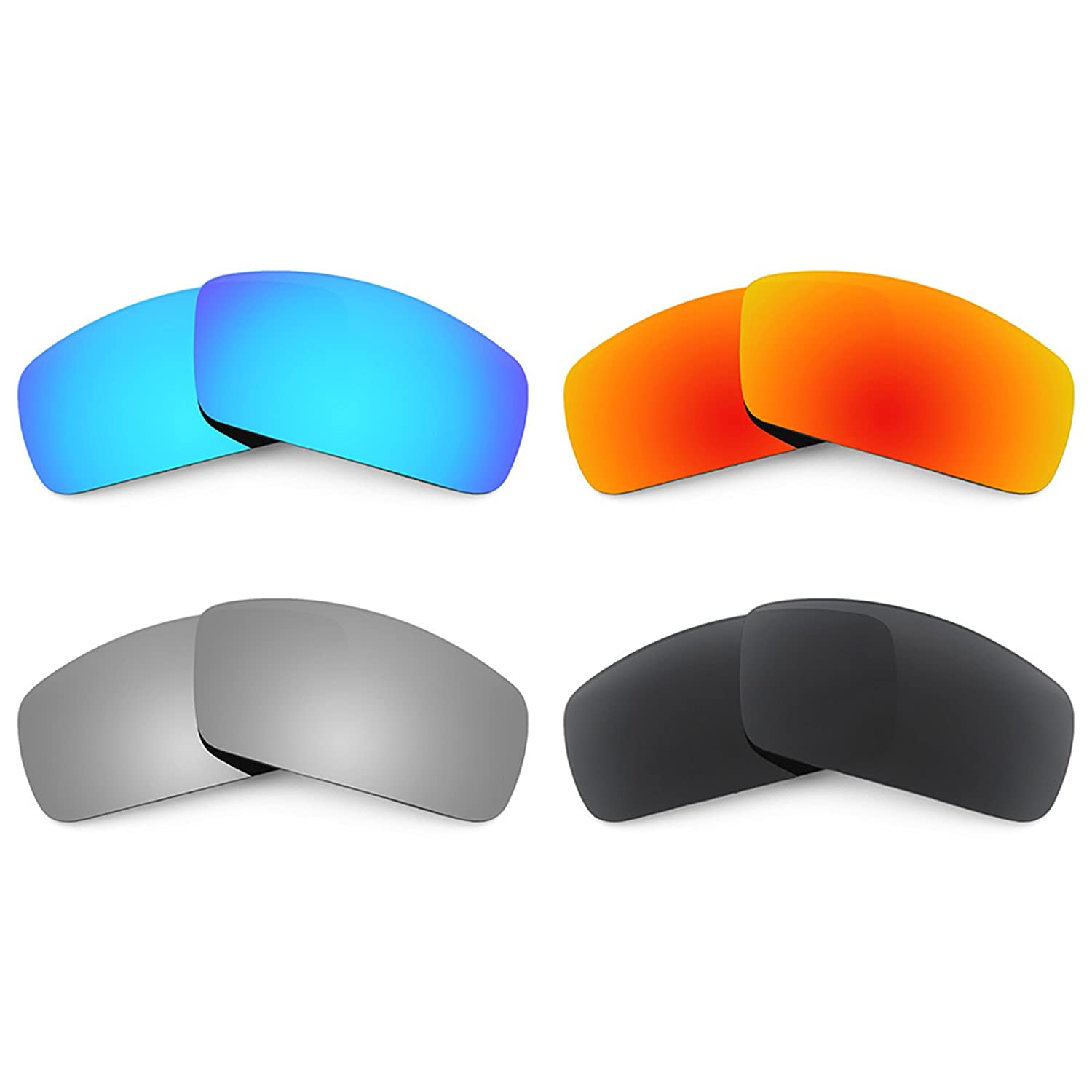 341abbadd4 Revant Replacement Lenses for Oakley Canteen (2006) 4 Pair Combo Pack K018  at Amazon Women s Clothing store  Replacement Sunglass Lenses