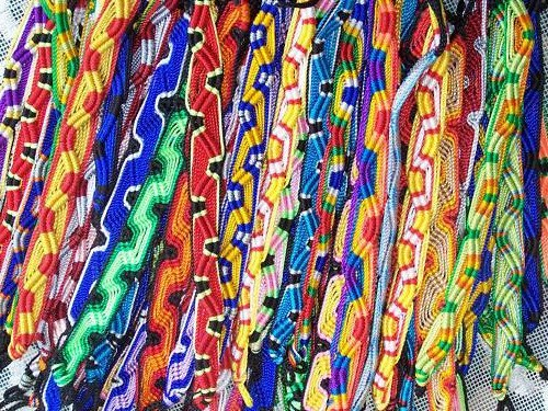 (Wholesale Lot 1000 Friendship Bracelets Handmade Peru)