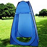 Portable Pop-Up Tent, Outdoor Waterproof Changing Room Shower Toilet Camping Beach Tent with Carry Bag.