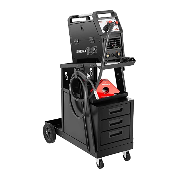 Stamos Welding Carro de soldadura SWG-WC-3D (Carga máxima: 75 kg, 3 Cajones, Superficie superior: 45 x 30 cm, Acero, Soporte botella de gas): Amazon.es: ...