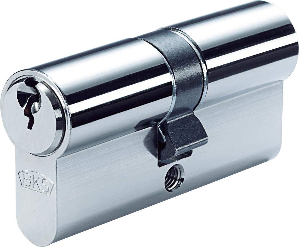 mit 3 Schl/üsseln BKS Profilzylinder 88020003 N GF,BL 27//35 mm eins