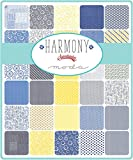 Harmony Charm Pack by Sweetwater; 42-5'' Precut Fabric Quilt Squares