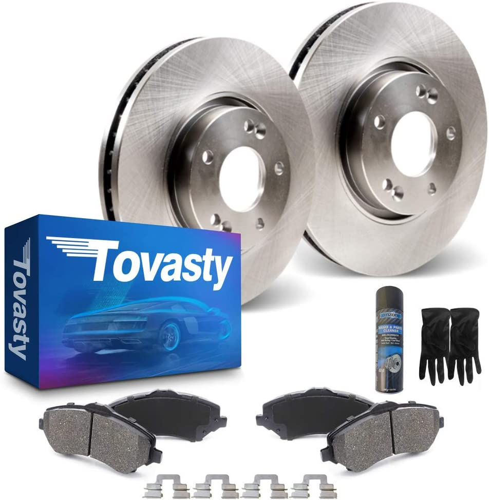 SCITOO Discs Brake Rotors Brake Kit fit 2002-2015 Nissan Altima,2011-2015 Nissan Juke,2004-2008 Nissan Maxima,2007-2015 Nissan Sentra