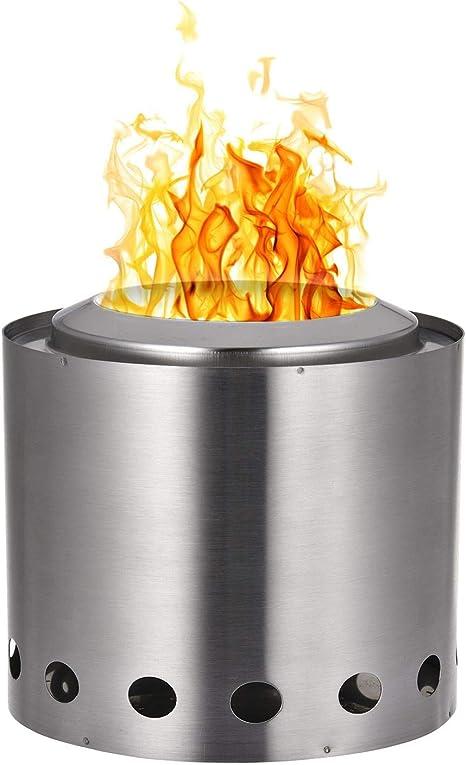 二 次 燃焼 焚き火 台