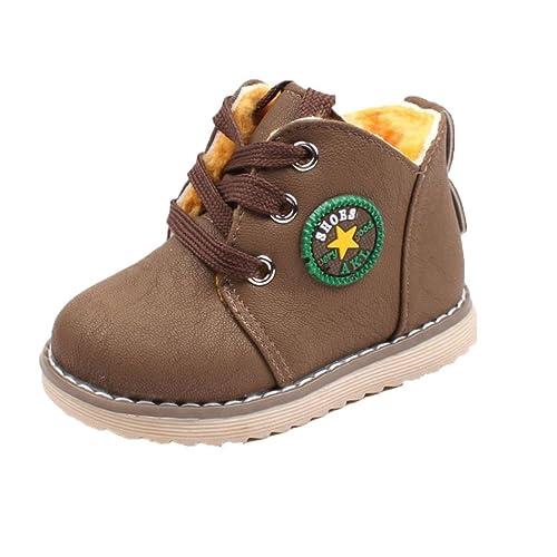 Zapatos de cordones Bebe y Niña Invierno, Recien Nacido Niño Zapatos ...