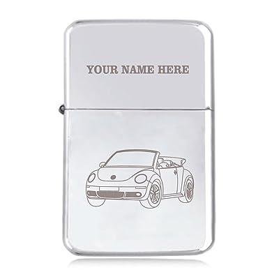 Beetle Cabriolet Motif–personnalisé Star coupe-vent Briquet à essence