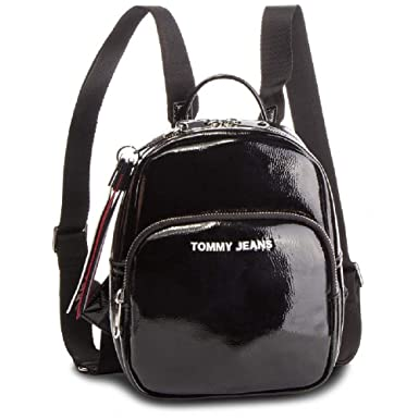 Tommy Hilfiger mochila mujer bolsa AW0AW06228 002 TJW MODERN GIRL MINI BACKPACK PA UNICA Nero
