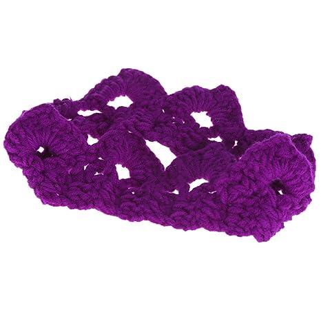Andoer Bebé Infantil Venda Corona Tejer Crochet Disfraz Suave Ropa Adorables Foto Fotografía Atrezzo para Los. Pasa ...