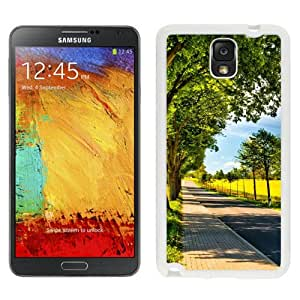 New Beautiful Custom Designed Cover Case For Samsung Galaxy Note 3 N900A N900V N900P N900T With Roadscape (2) Phone Case