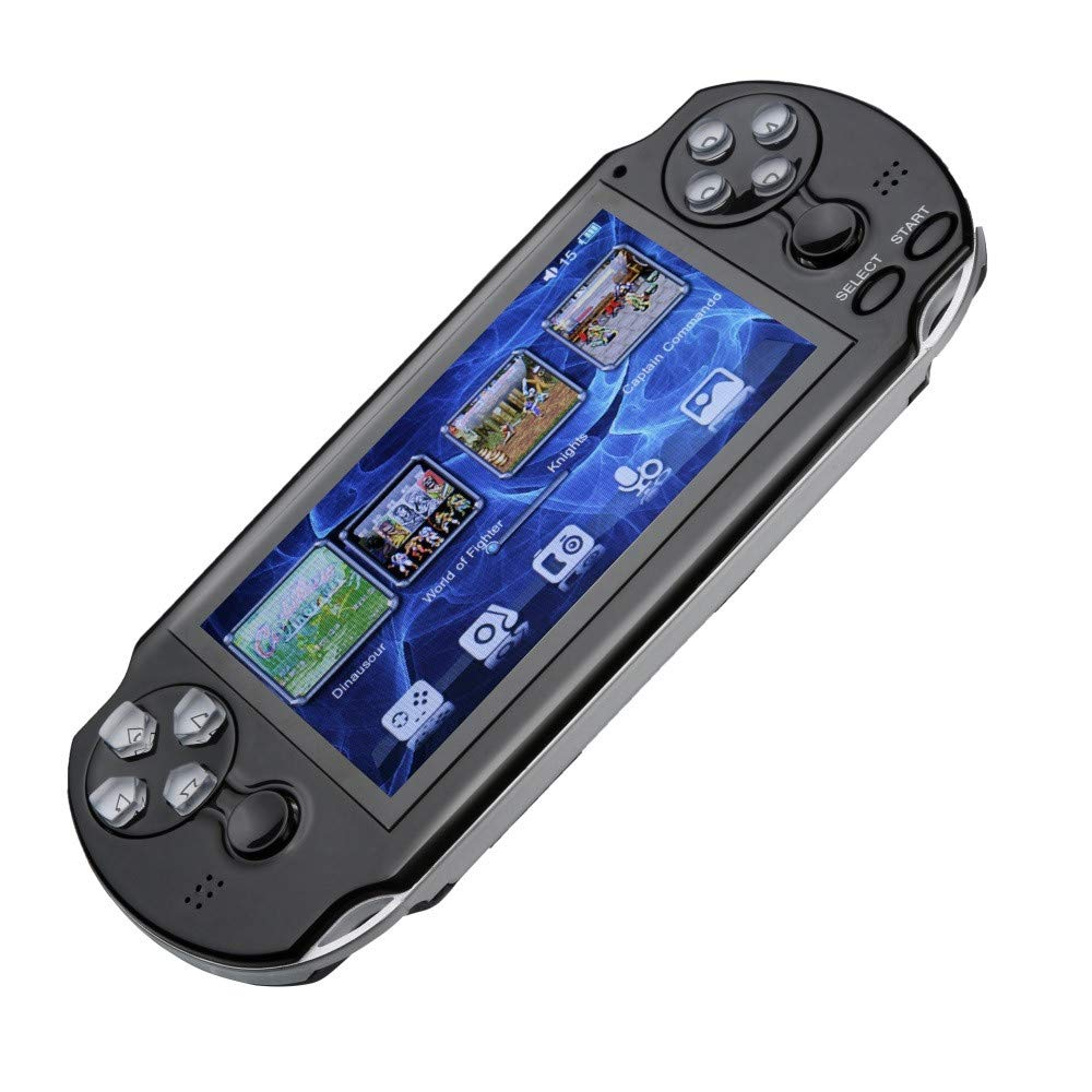 Zhaowei Pap GAMETA 2 Plus 4.3'' Handheld Game Console 64 Bit 16G Video Game Concole Port (Black) by Zhaowei_game console (Image #2)