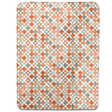 Autumnal Star Bingo Fitted Sheet: King Luxury Microfiber, Soft, Breathable