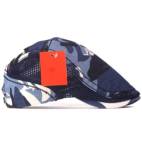Fashion Camouflage Beret Cap sway Cap Hats for Men and Women Visors Sun hat Gorras Planas Flat Caps Berets at Amazon Womens Clothing store: