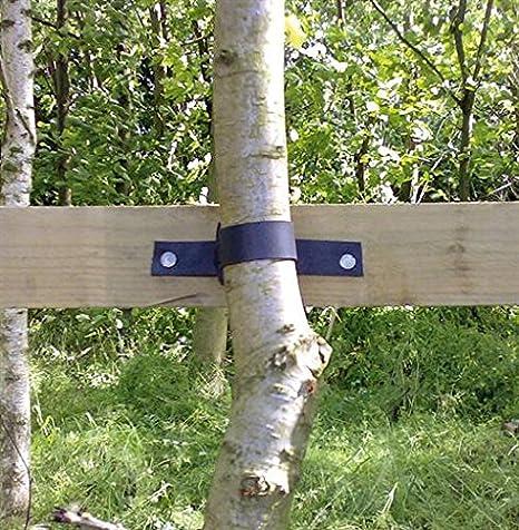 Jeweils 90 cm pflanzenbinder Baumbinder verstellbar mit Schnalle f/ür St/ütz Baum Strauch KINGLAKE 2er Set