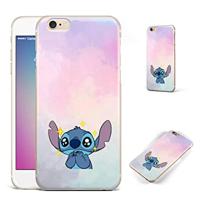 GSPSTORE iPhone 6,iPhone 6S case Lilo & Stitch Cartoon Cute Case Soft Transparent TPU Protector Cover for iPhone 6,iPhone 6S #Color 1