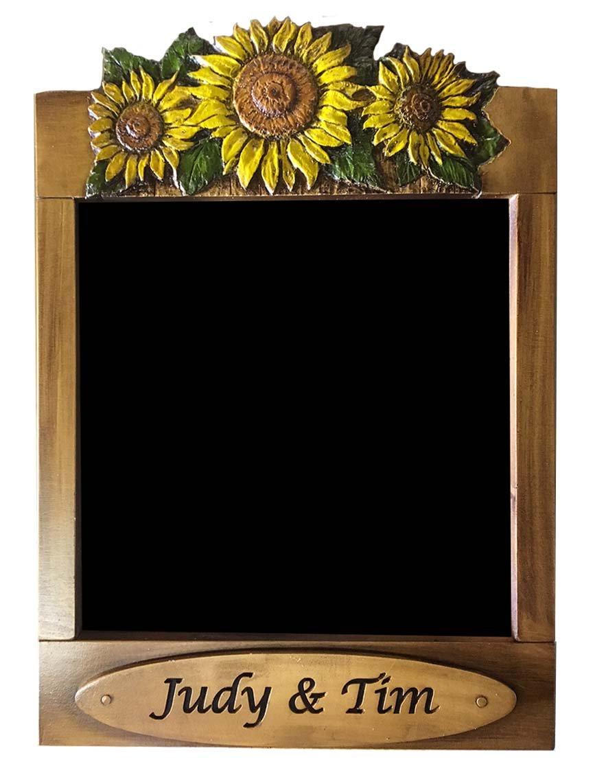 Free Shipping Sunflower Kitchen Decor Personalized Chalkboard