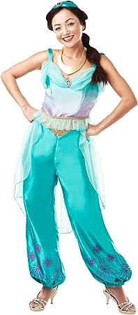Rubies Disfraz oficial de princesa Jasmine Aladdin de Disney, para ...